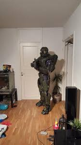 Master Chief Halloween Costumes 3ders Org Maker Creates Amazing Size 3d Printed Master