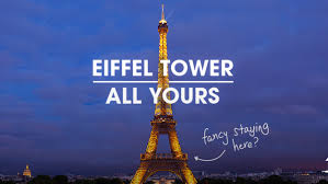 eiffel tower here u0027s how you can rent it through homeaway today com
