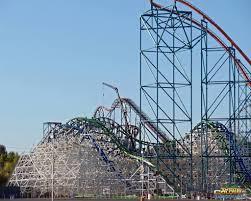 Goliath Six Flags Magic Mountain Six Flags Magic Mountain Twisted Colossus Rmc Iron Horse