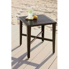 Patio Side Tables Wonderful Patio Side Table For Minimalist Interior Home Design
