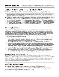 Substitute Teaching On Resume 53 Best Substitute Teacher Images On Pinterest Substitute