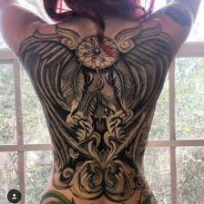 big tattoo woman back http tattootodesign com big tattoo woman