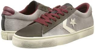 uk converse shoes converse men pro leather vulc ox suede lth gray