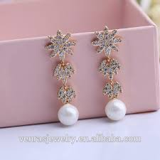 new jhumka earrings new design gold jhumka pearl earrings for with price buy