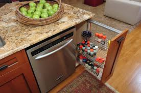 kitchen design overwhelming kitchen cabinets pull out spice rack