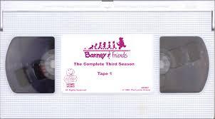 barney u0026 friends the complete third season custom barney