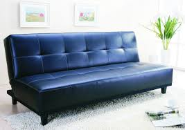 comfortable blue leather sofa to add adorable living room ruchi