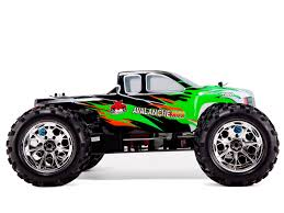 avalanche xtr 1 8 scale nitro monster truck