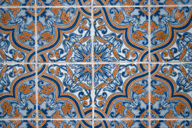 cheap decorating ceramic tiles colorful vintage spanish style