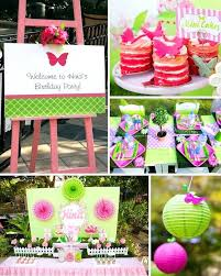 30th birthday outdoor decorations butterfly garden themed party