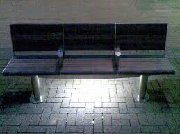 Bench Lighting Under Bench Lighting At Noise Of Art