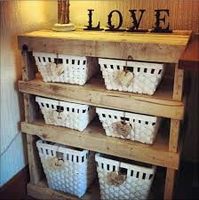 Wooden Storage Shelf Diy by Wooden Pallet Storage Shelves Diy Furniture Ideas Pallet