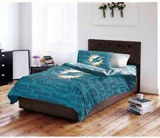 What Size Is A Full Size Comforter Miami Dolphins Bedding Ebay