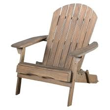hayle reclining wood adirondack chair with footrest blue