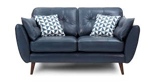 Leather Two Seater Sofas Zinc Leather 2 Seater Sofa Dfs