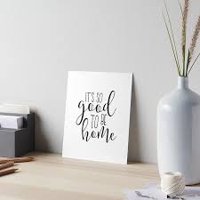 home decor wall posters home decor wall art it u0027s so good to be home home wall art home