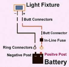 12 Volt Dc Led Light Fixtures Diagram Showing Which Color Wire To Use Basic 12 Volt Wiring