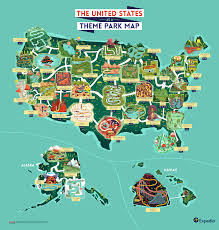 Seeking Theme What If The Us Was One Big Theme Park Infographic