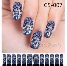 0 99 12pcs nail art water decals transfer stickers pretty lotus