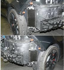 2015 corvette transmission transmission cooler fan missing