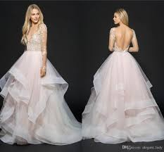 discount hayley paige romantic princess wedding dresses with long