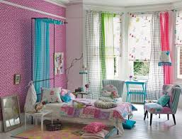 Curtain Colors Inspiration Excellent Bedroom Inspiration Ideas Using Soft Magenta Wall