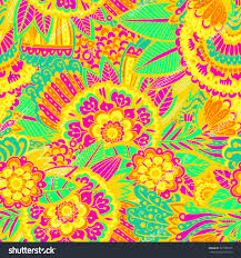doodle indian bright beautiful pattern pattern stock vector 301502555