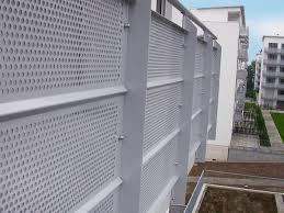 balkon paneele lochblech geländer balkonverkleidung