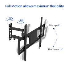 Tv Wall Mount Bracket Swivel A26 Full Motion Tv Wall Mount For 26 U201d U201355 U201d U2013 Fleximounts
