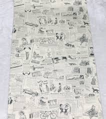 Self Stick Wallpaper by Vintage Newspaper Peel U0026 Stick Wallpaper Beige Black Self Adhesive