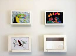 display art art display box 10 min hack to store show your kids art