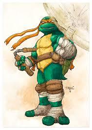 teenage mutant ninja turtles michelangelo tristan jones