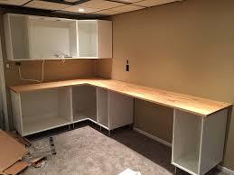 installing ikea sektion kitchen cabinets as basement storage