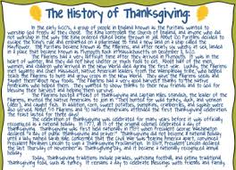 thanksgiving history the thanksgiving story