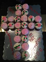 pinterest confirmation party confirmation cupcake cake ideas