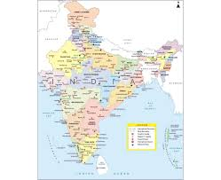 Map Of Punjab India by Maps Of India Detailed Map Of India In English Tourist Map