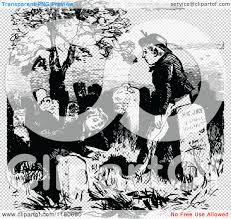 graveyard clipart black and white clipart of retro vintage black and white boys in a cemetery