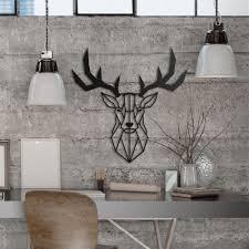 metal deer wall art