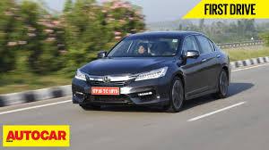 Honda Accord Interior India Honda Accord Hybrid First Drive Autocar India Youtube