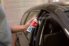 guarnizioni porte auto spray per il trattamento della gomma
