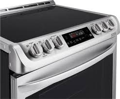 Slide In Cooktop Lg Lse4611st 30 Inch Slide In Electric Range With Smoothtop