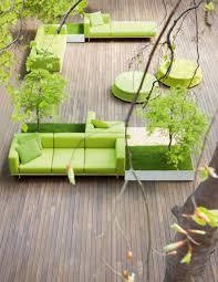 bench paola lenti garden ideas pinterest balconies