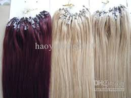 micro ring extensions top quality links loop micro ring hair human hair extensions