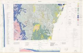sydney australia map sydney 1 250 000 geological map nsw resources and energy