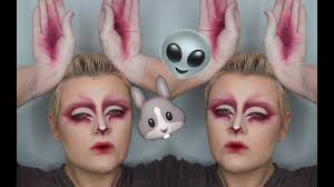 Alien Halloween Makeup by Alien Bunny Halloween Makeup Tutorial Mathu Andersen Inspired
