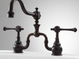 Bridge Kitchen Faucet With Side Spray by Sink U0026 Faucet Beautiful Antique Brass Kitchen Faucet Kitchen