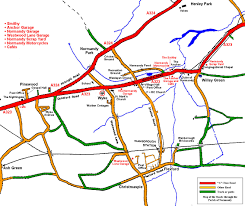 map of roads the normandy historians library