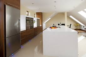 contempory contemporary kitchens high gloss cross grain veneer armagh