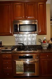 pressed tin tiles backsplash home design ideas