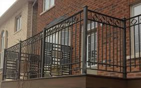 decorative wrought iron fence panels home u0026 gardens geek